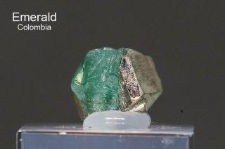 エメラルド 結晶石 コロンビア産|Chivor, Eastern Emerald Belt, Boyaca, Colombia|緑柱石|Emerald|2769A|