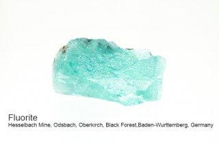 ★フローライト 結晶原石 ラフ|黒い森|ドイツ産|Hesselbach Mine, Black Forest, Germany|蛍石|Fluorite|