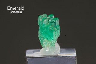 エメラルド 結晶石 コロンビア産|Muzo, Western Emerald Belt, Boyaca, Colombia|緑柱石|Emerald|2752A|