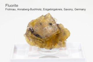フローライト 結晶石 ドイツ産|イエローフローライト|Frohnau, Annaberg-Buchholz, Erzgebirgskreis, Saxony, Germany|Fluorite|蛍石|