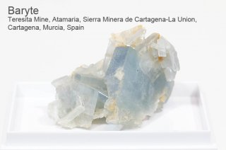 バライト 結晶 スペイン産|Teresita Mine, de Cartagena-La  Union, Cartagena, Murcia, Spain|Baryte|重晶石|