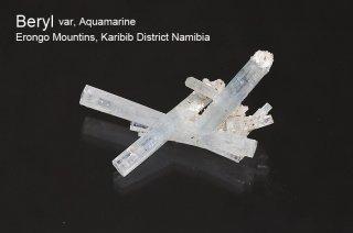 アクアマリン 結晶石 ナミビア産|DT結晶クラスター|Beryl|Erongo Mountins, Karibib District Namibia|Aquamarine|緑柱石|