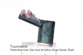 トルマリン 結晶石 ブラジル産|Pederneira mine, Sao Jose da Safira, Minas Gerais, Brazil|リシア電気石|Tourmaline|