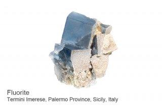 【シチリア産】フローライト 結晶 シチリア イタリア産|人気のブルー色|Termini Imerese,Palermo Province, Sicily, Italy|Fluorite|蛍石|