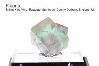 フローライト 結晶石 イングランド|Billing Hills Mine, Eastgate, Stanhope, County Durham, England, UK|Fluorite|蛍石|