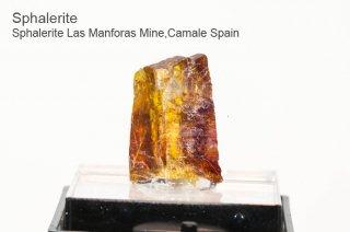 スファレライト 結晶 スペイン産|Sphalerite Las Manforas Mine,Camale Spain|Sphalerite|閃亜鉛鉱|