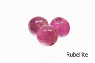 【ビーズ】ルベライト 3A 6mm|Rubellite|Tourmaline|紅電気石|1粒販売|