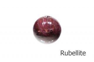 【ビーズ】ルベライト A 13m|Rubellite|Tourmaline|紅電気石|1粒販売|