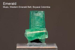 エメラルド 結晶石 コロンビア産 Muzo, Western Emerald Belt, Boyaca, Colombia 緑柱石 Emerald 160C 