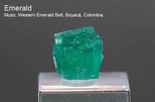 エメラルド 結晶石 コロンビア産 Muzo, Western Emerald Belt, Boyaca, Colombia 緑柱石 Emerald 1253 