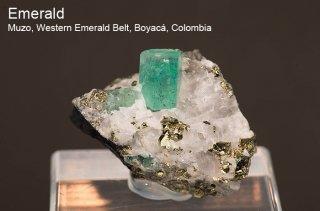 エメラルド 結晶石 コロンビア産 Muzo, Western Emerald Belt, Boyaca, Colombia 緑柱石 Emerald 171K 