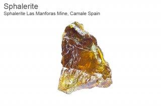 スファレライト 結晶 スペイン産  Las Manforas Mine,Camale Spain Sphalerite 閃亜鉛鉱 