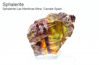 スファレライト 結晶 スペイン産| Las Manforas Mine,Camale Spain|Sphalerite|閃亜鉛鉱|2783A|