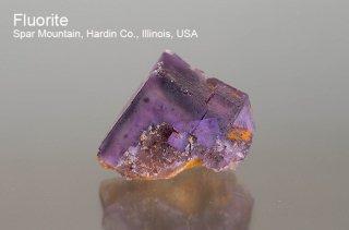 フローライト 結晶石 イリノイ産|Spar Mountain, Hardin Co., Illinois, USA|蛍石|Fluorite|