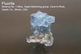 フローライト 結晶石 イリノイ産|Minerva No. 1 Mine, Cave-in-Rock, Hardin Co., Illinois, USA|蛍石|Fluorite|