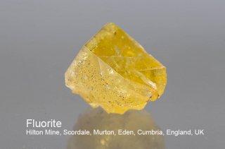 フローライト 結晶 イギリス産 ヒルトンマイン Hilton Mine, Scordale, Murton, Eden, Cumbria, England, UK 蛍石 Fluorite 
