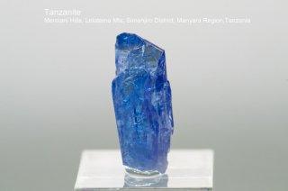 タンザナイト 結晶石 タンザニア産 ゾイサイト 灰簾石 Mereiani Hills, Lelatema Mts, Tanzania Tanzanite 