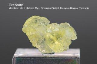 プレナイト 結晶 タンザニア産 Mereiani Hills, Lelatema Mts, Tanzania Prehnite ブドウ石 