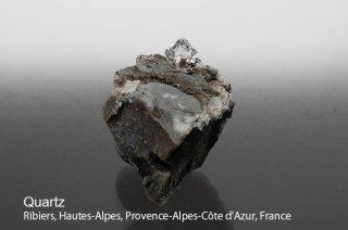 水晶 結晶 フランス産 var, Herkimer Quartz Ribiers, Hautes-Alpes, Provence-Alpes-Cote d'Azur, France 水晶 