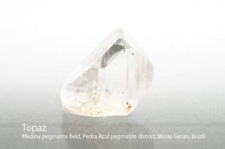 トパーズ 結晶 ブラジル産|Medina pegmatite field, Pedra Azul pegmatite district, Minas Gerais, Brazil|Topaz|黄玉|