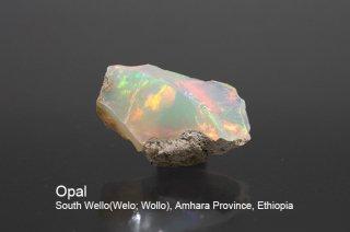 オパール 結晶石 エチオピア産 蛋白石 South Wello(Welo; Wollo), Amhara Province, Ethiopia Opal 