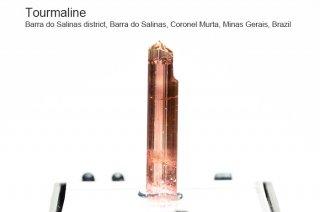 トルマリン 結晶 ブラジル産|電気石|Barra do Salinas Coronel Murta, Minas Gerais, Brazil|Tourmaline|