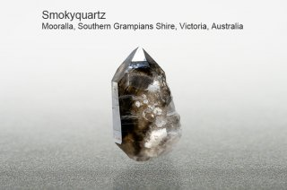 スモーキークォーツ 結晶 オーストラリア産|Mooralla, Southern Grampians Shire, Victoria, Australia|SmokyQuartz|煙水晶|