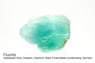フローライト 結晶原石 ラフ|黒い森|ドイツ産|Hesselbach Mine, Black Forest, Germany|蛍石|Fluorite|
