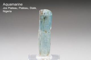 アクアマリン 結晶 ナイジェリア産|Jos Plateau, Plateau, State, Nigeria|Aquamarine|Beryl|緑柱石|
