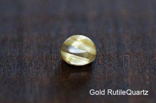 【お守り石】ゴールドルチルクォーツ お守り石 ブラジル産|Brazil|Gold RutileQuartz|金紅石|