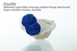 アズライト 結晶 オーストラリア産|Azurite|Malbunka Copper Mine, Northern Territory, Australia|藍銅鉱|