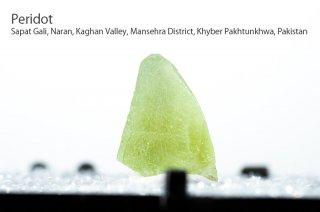 ペリドット 結晶 パキスタン産|Sapat Gali, Pakistan|Peridot|かんらん石|