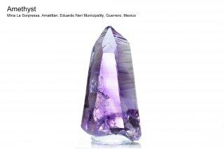 アメジスト 結晶 メキシコ産|ゲレロ産 アメジスト|Mina La Sorpressa, Amatitlan,  Guerrero, Mexico|Guerrero|Amethyst|紫水晶|
