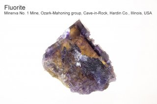 フローライト 結晶石 イリノイ産|Minerva No. 1 Mine, Ozark-Mahoning group, Cave-in-Rock, Hardin Co., Illinois, USA
