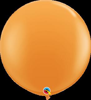 ラウンド 3フィート オレンジ