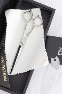 【新品】UKクラフト グランドシザー ミラクル 6インチ ストレート ハマグリ刃 オフセットハンドル ブラントカット ユウコークラフト