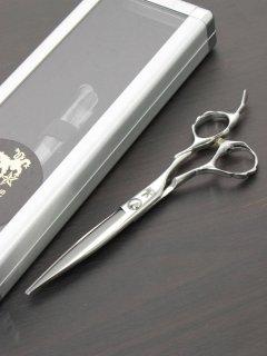【美品】トラックスシザーズ SASA 6インチ カットシザー 笹刃 3Dハンドル