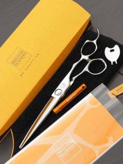 【美品】ミズタニシザーズ SWORD DB-20 カットシザー 6.7インチ ハマグリ刃 オフセットハンドル