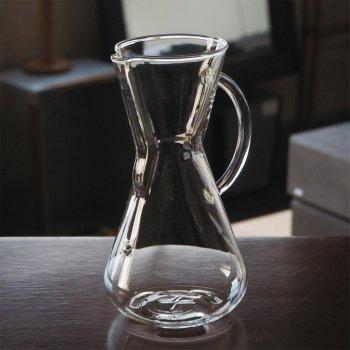 ケメックスのコーヒーメーカー ガラス取手型 (3カップ用)