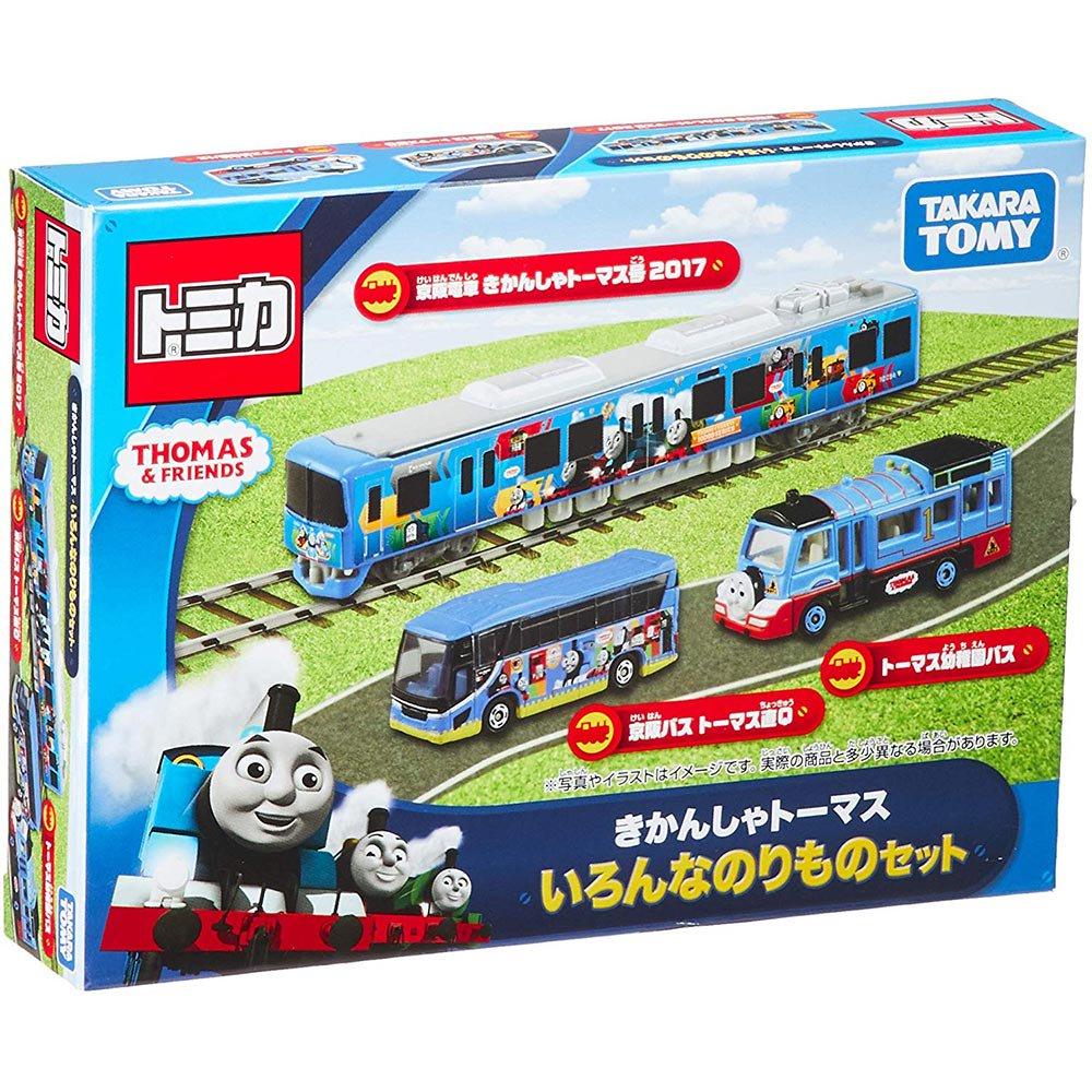 ピングー ★京阪電車★ トミカギフト きかんしゃトーマス いろんなのりものセット TO
