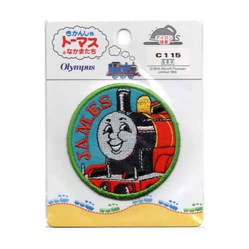 ししゅうワッペン C115(ジェームス) TO
