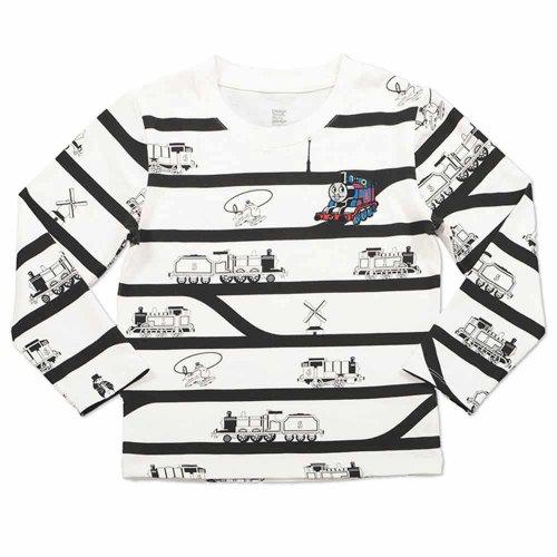 長袖Tシャツ(レイルウェイ トラック ボーダー)100 05400009200233 TO