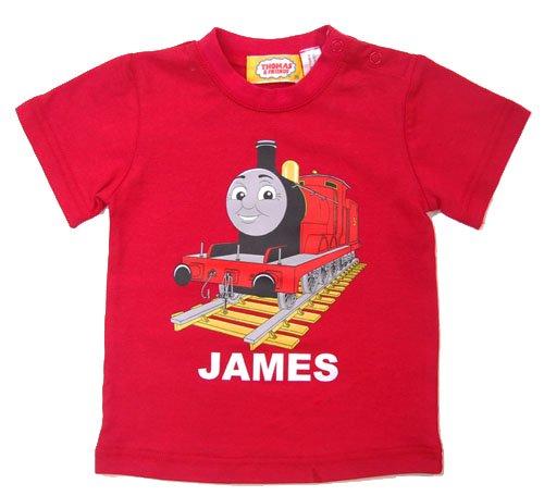 【生産終了品】Tシャツ ジェームス(レッド/80)88406-01 TO
