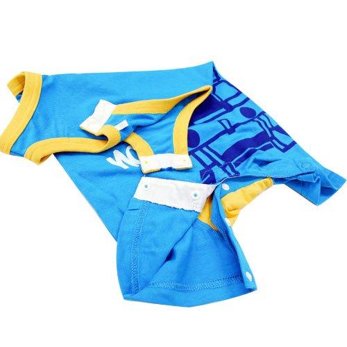 ピングー 袖なしカバーオール(ブルー/80)88238-82 TO