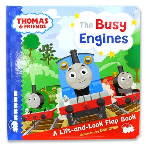 【英語のえほん】Busy Engines Lift-the-Flap Book TO