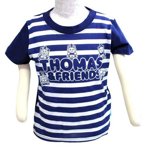 【生産終了品】袖切替Tシャツ(ネイビー)110 742TM0021 TO
