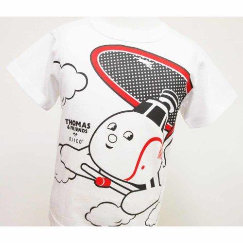 【OJICO】Tシャツ(トーマス2019/ホワイト)8A(125〜135cm)T-1513-W-08 TO
