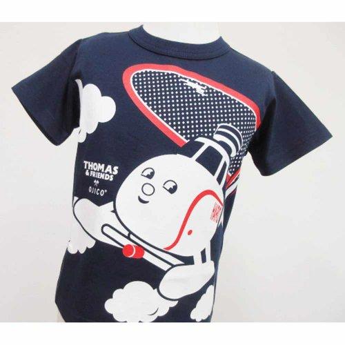 【OJICO】Tシャツ(トーマス2019/ネイビー)8A(125〜135cm) T-1513-N-08 TO