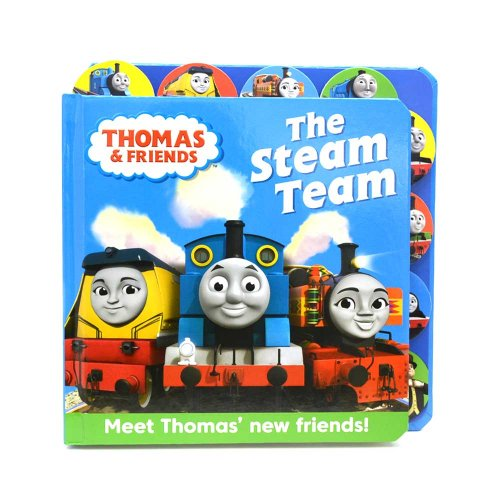 【英語のえほん】Thomas&Friends:Steam Team  TO