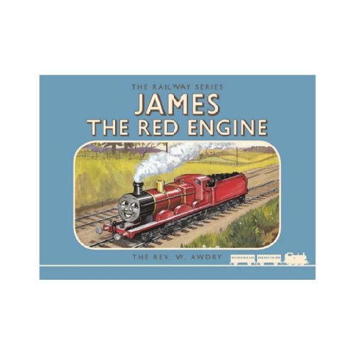 【英語のえほん】Thomas the Tank Engine The Railway Series: James the Red Engine  TO